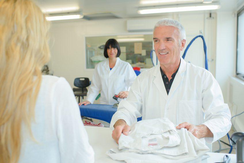 Wäschereileistungen für Berufsbekleidung